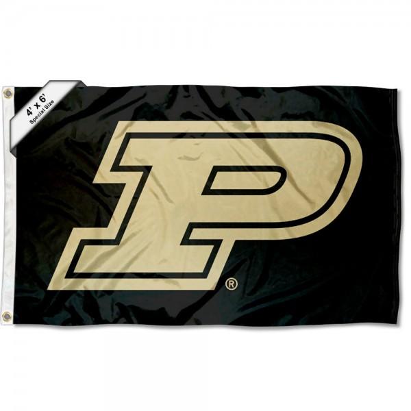 Purdue Slanted P 4'x6' Flag