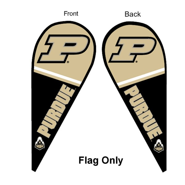 Purdue Teardrop Flag