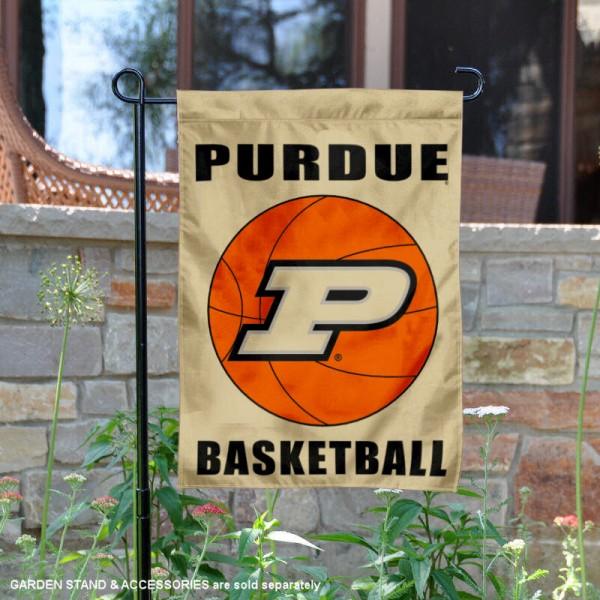 Purdue University Basketball Garden Flag