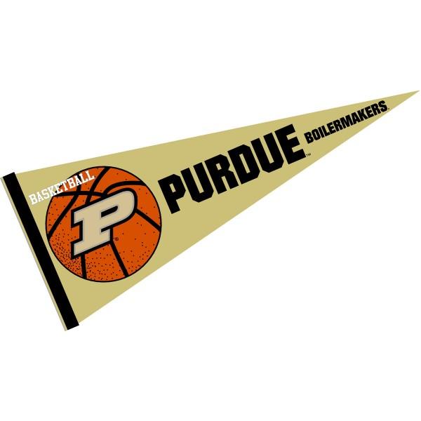 Purdue University Boilermakers Basketball Pennant