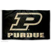 Purdue University Slanted P Flag