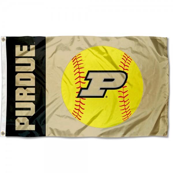 Purdue University Softball Flag
