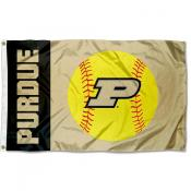 Purdue University Softball Flag
