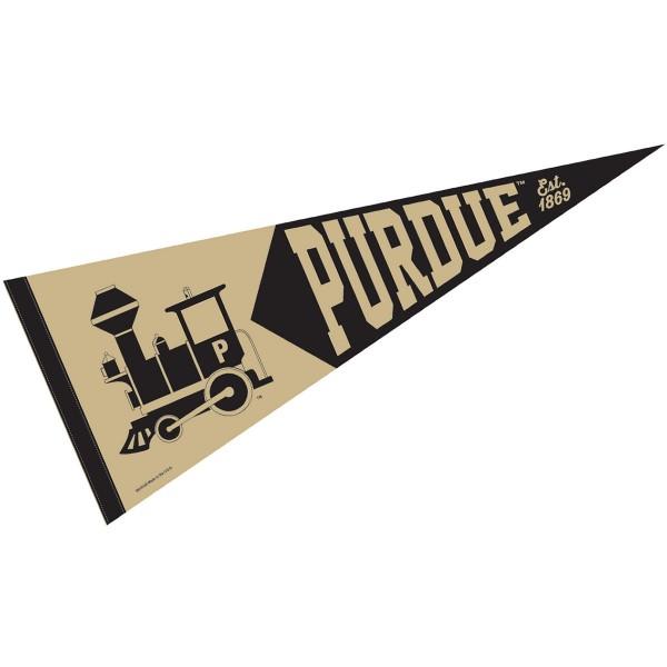 Purdue Vintage Logo Pennant
