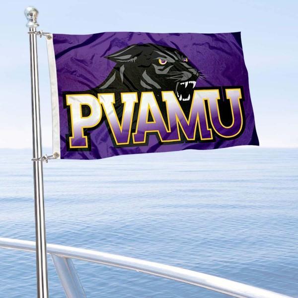 PVAMU Panthers Boat Nautical Flag
