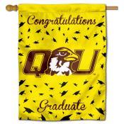 QU Hawks Graduation Banner