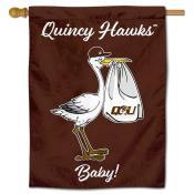QU Hawks New Baby Banner