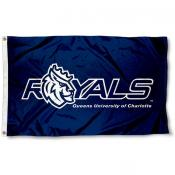 Queens University of Charlotte Royal Flag