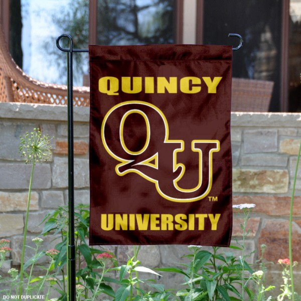 Quincy Hawks Garden Flag
