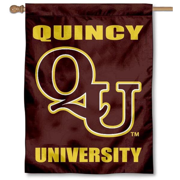 Quincy Hawks House Flag