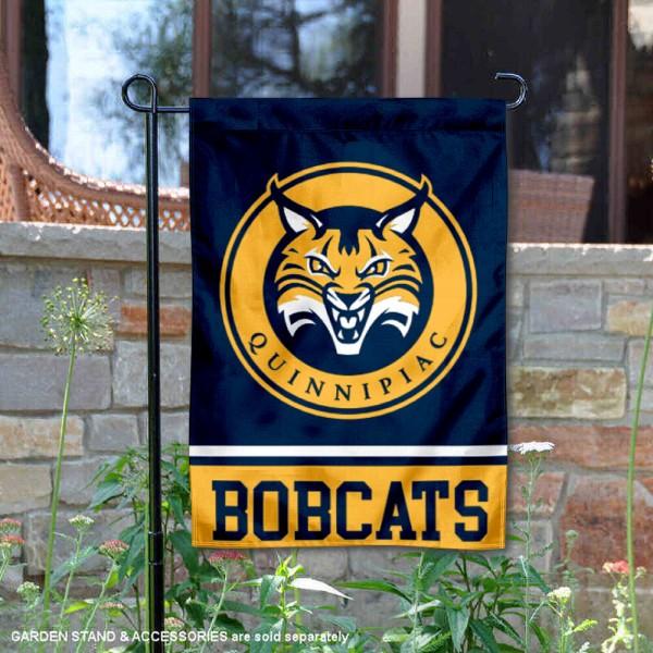 Quinnipiac Bobcats Garden Flag