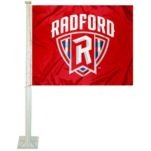 Radford Highlanders Car Flag