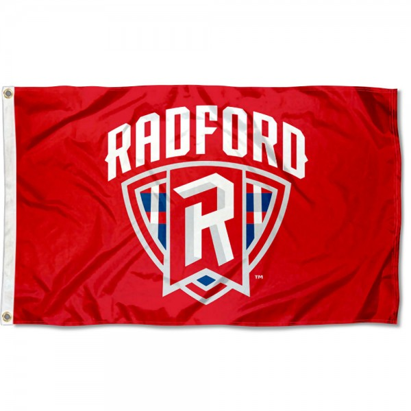 Radford Highlanders Logo Flag