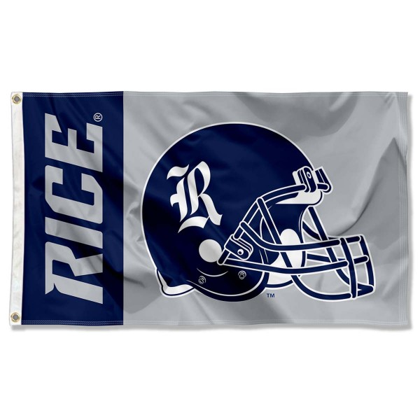 Rice Football Flag