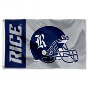 Rice Football Flag
