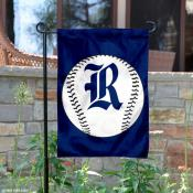 Rice Owls Baseball Garden Flag