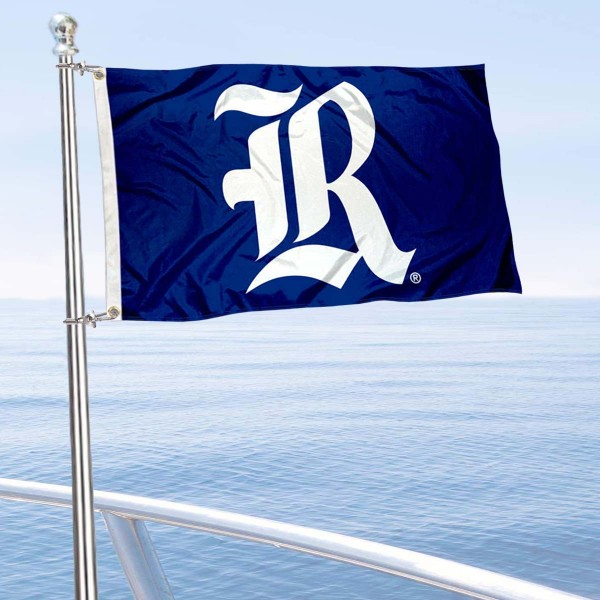 Rice Owls Boat Flag