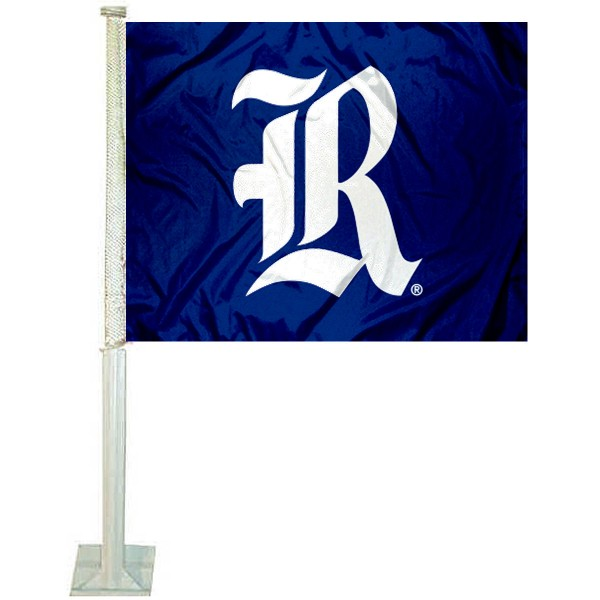 Rice Owls Car Flag