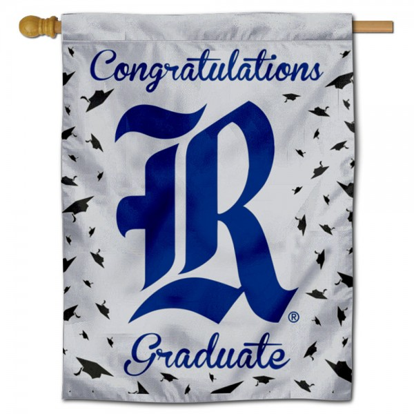 Rice Owls Graduation Banner