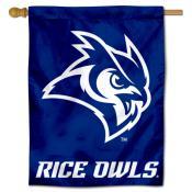 Rice Owls House Flag