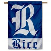 Rice Owls House Flag