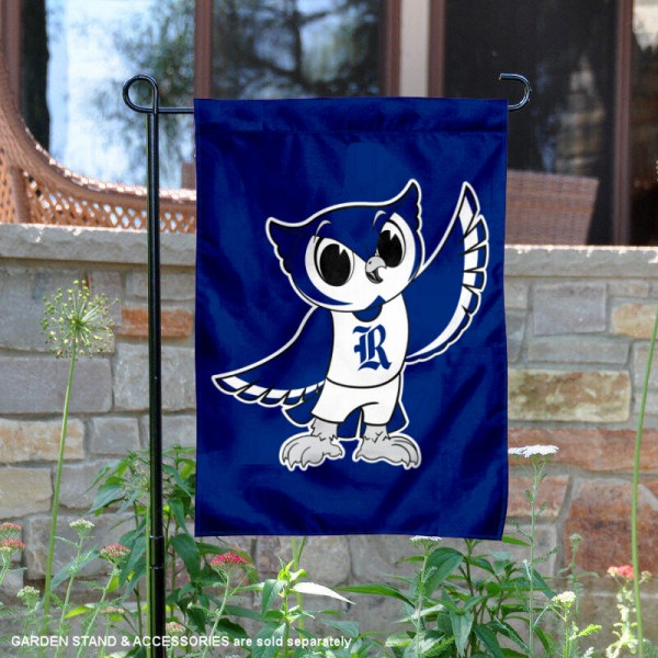 Rice Owls Kids Sammy the Owl Garden Flag