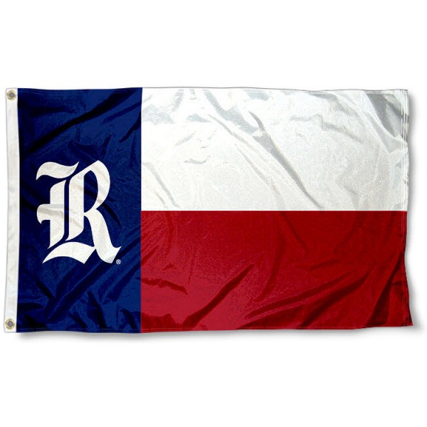 Rice Owls Texas State Flag