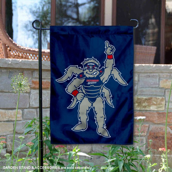 Richmond Spiders Mascot WebstUR Garden Flag