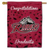 Rider Broncs Graduation Banner