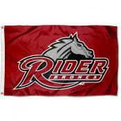 Rider Broncs Logo Outdoor Flag