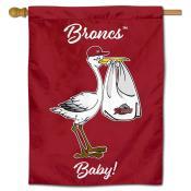 Rider Broncs New Baby Banner
