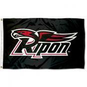Ripon Red Hawks Logo Flag