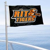 RIT Tigers Boat Nautical Flag
