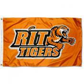 RIT Tigers Logo Flag