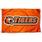 RIT Tigers Orange Logo Flag