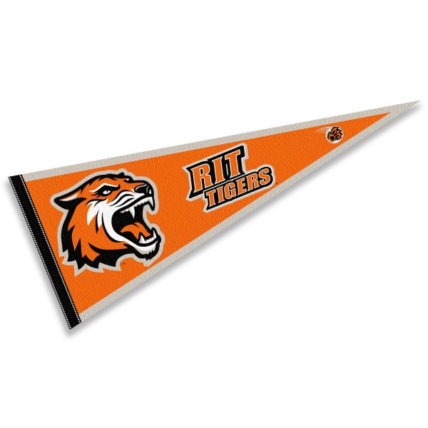 RIT Tigers Pennant