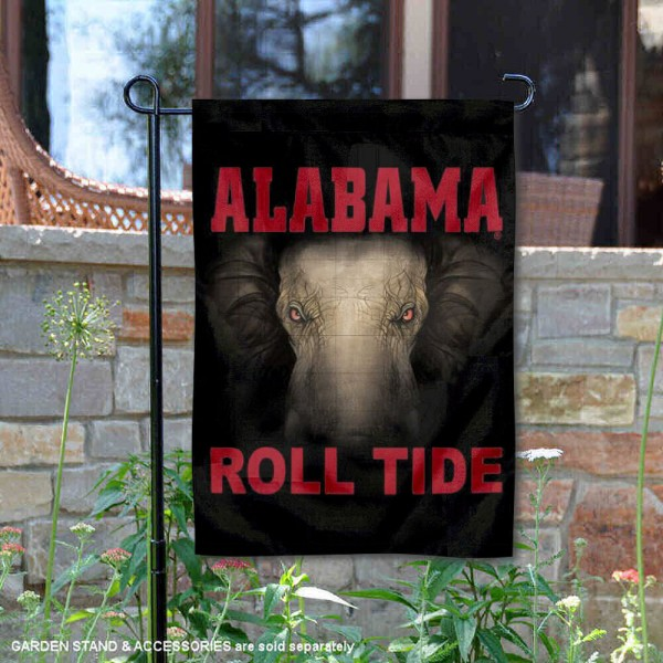 Roll Tide Alabama Garden Flag and Yard Flags for Crimson Tide