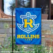 Rollins College 2 Ply Double Sided Garden Flag