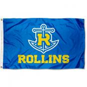 Rollins Tars Logo Outdoor Flag