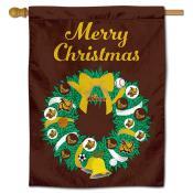 Rowan Profs Christmas Holiday House Flag