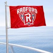 RU Highlanders Boat Nautical Flag
