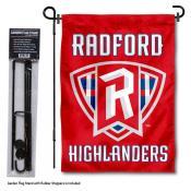 RU Highlanders New Logo Garden Flag and Holder