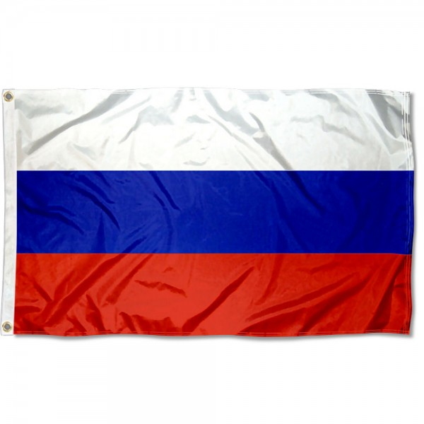 Russia Country 3x5 Polyester Flag