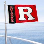 Rutgers Boat Flag