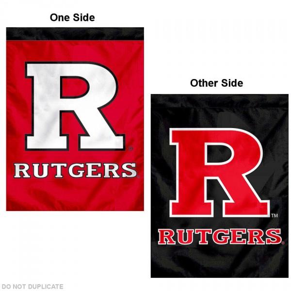 Rutgers Dual Logo House Flag
