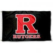 Rutgers Flag - Black