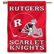 Rutgers Football House Flag