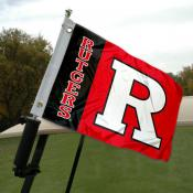 Rutgers Golf Cart Flag