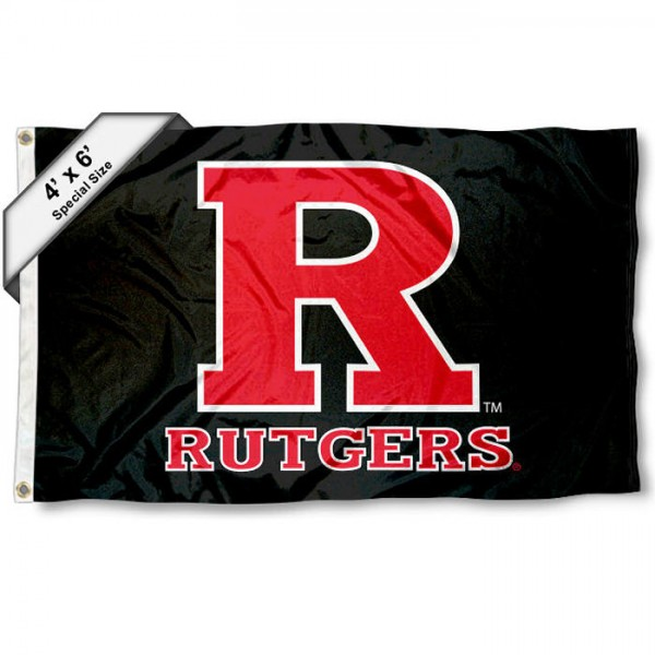 Rutgers Scarlet Knights 4'x6' Flag