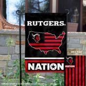 Rutgers Scarlet Knights Nation Garden Flag